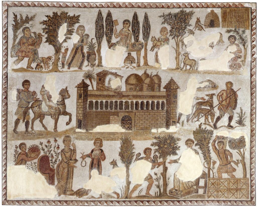 "Mosaïque dite de ""Dominus Julius"""