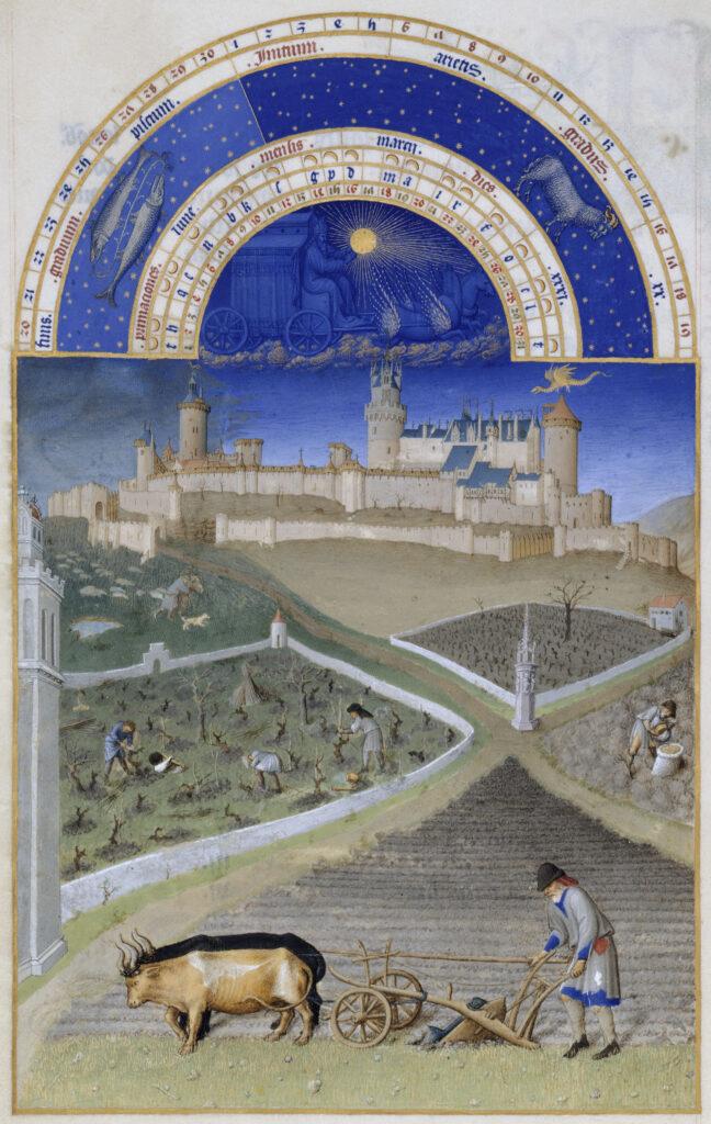 Limbourg Pol, Jean et Hermann, Très Riches Heures, 15e siècle