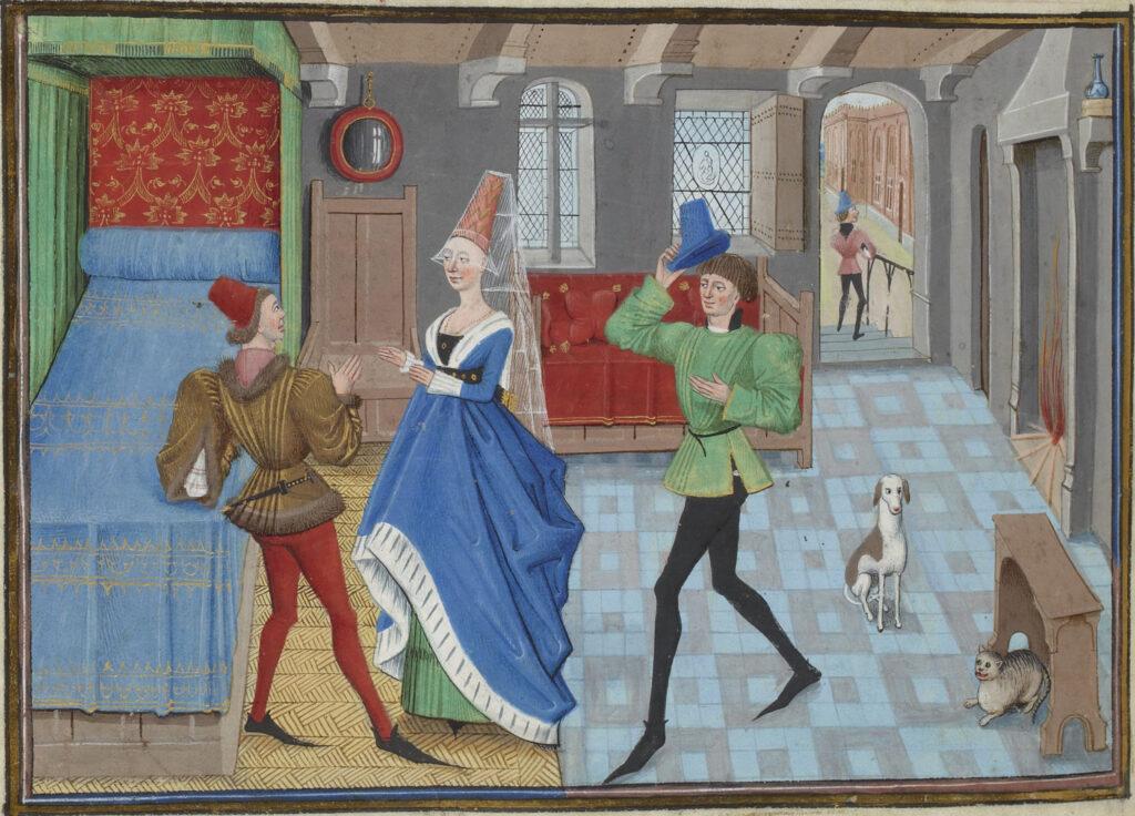 Intérieur Médiéval