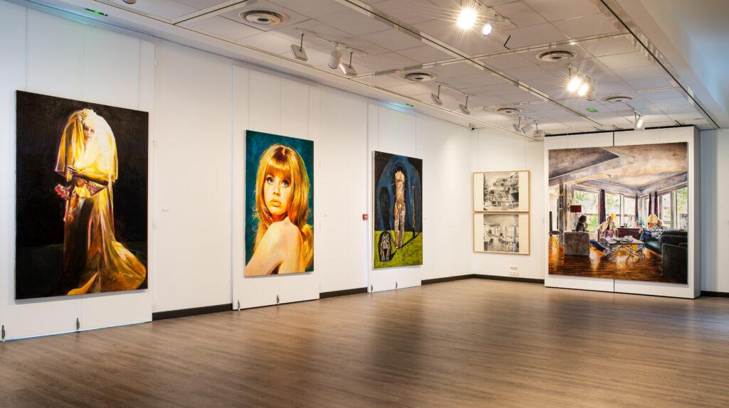 Exposition Histoire en peintures au Château du Val Fleury (10)
