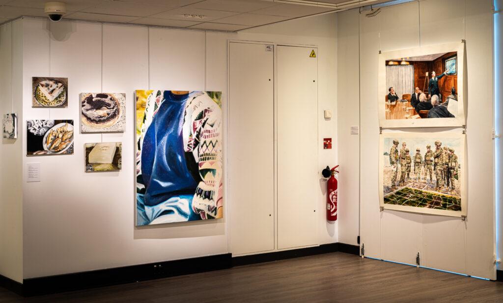 Exposition Histoire en peintures au Château du Val Fleury (2)