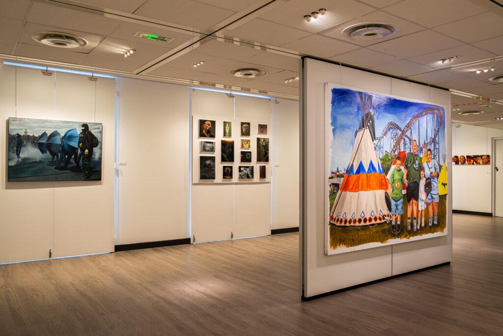 Exposition Histoire en peintures au Château du Val Fleury (3)