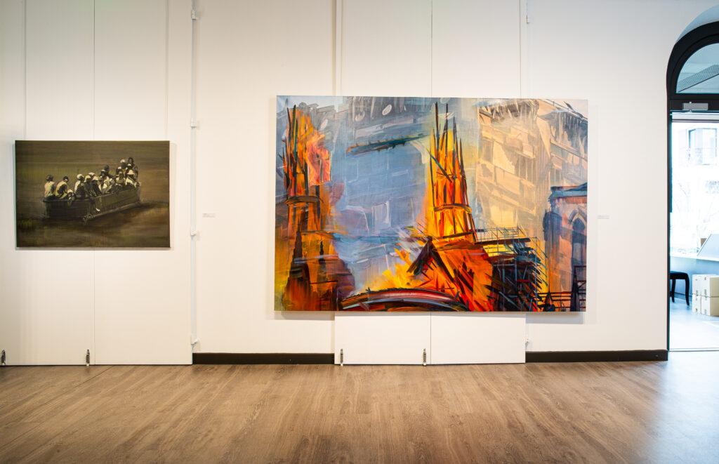Exposition Histoire en peintures au Château du Val Fleury (9)