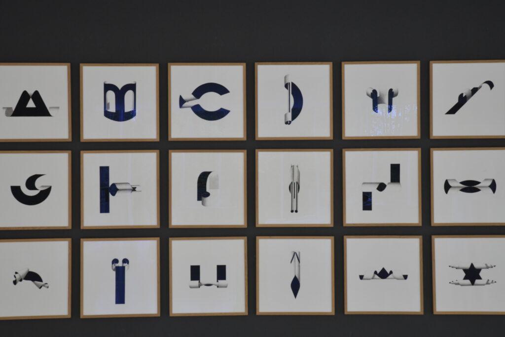 Exposition Lettres de verre, Musverre