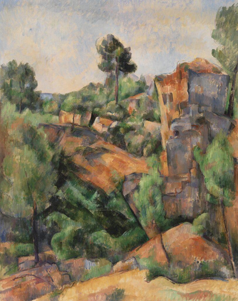 Paul Cézanne, Les Carrières de Bibémus, vers 1895