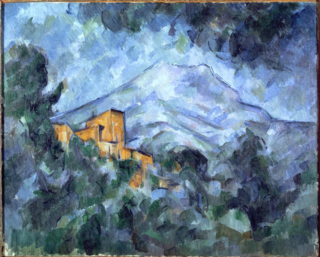 Paul Cézanne, La Montagne Sainte-Victoire et le Château Noir, 1904–06