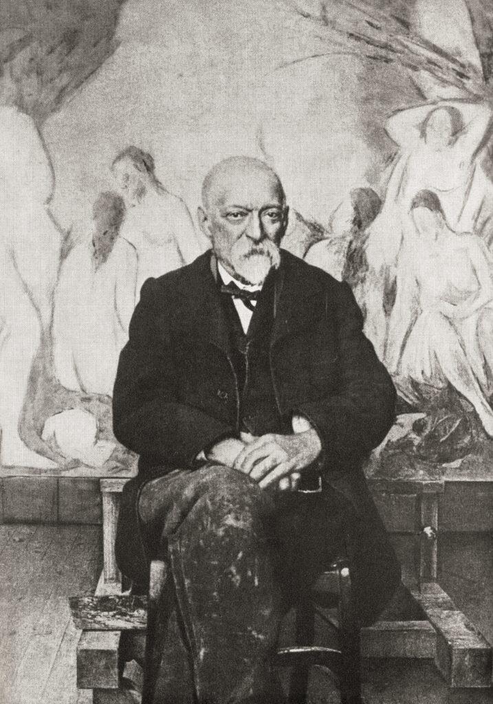 Portrait de Paul Cézanne vers 1904
