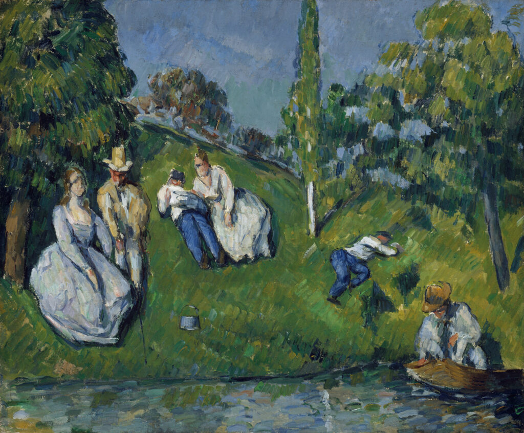 Paul Cézanne, The pond, 1877–79