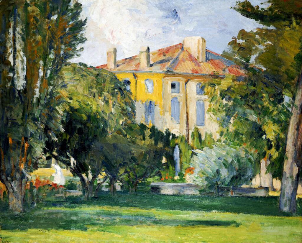 Paul Cézanne, La Maison du Jas-de-Bouffan, 1882-1885