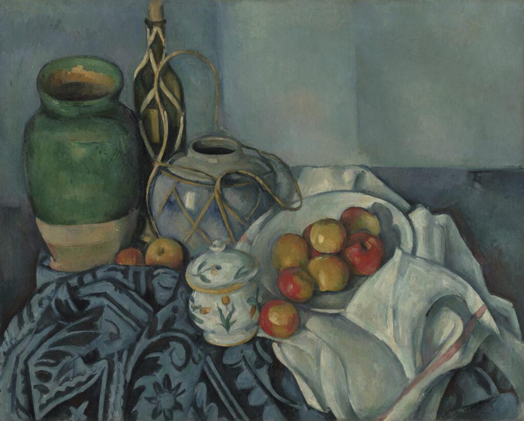 Paul Cézanne, Nature morte aux pommes, vers 1893-1894