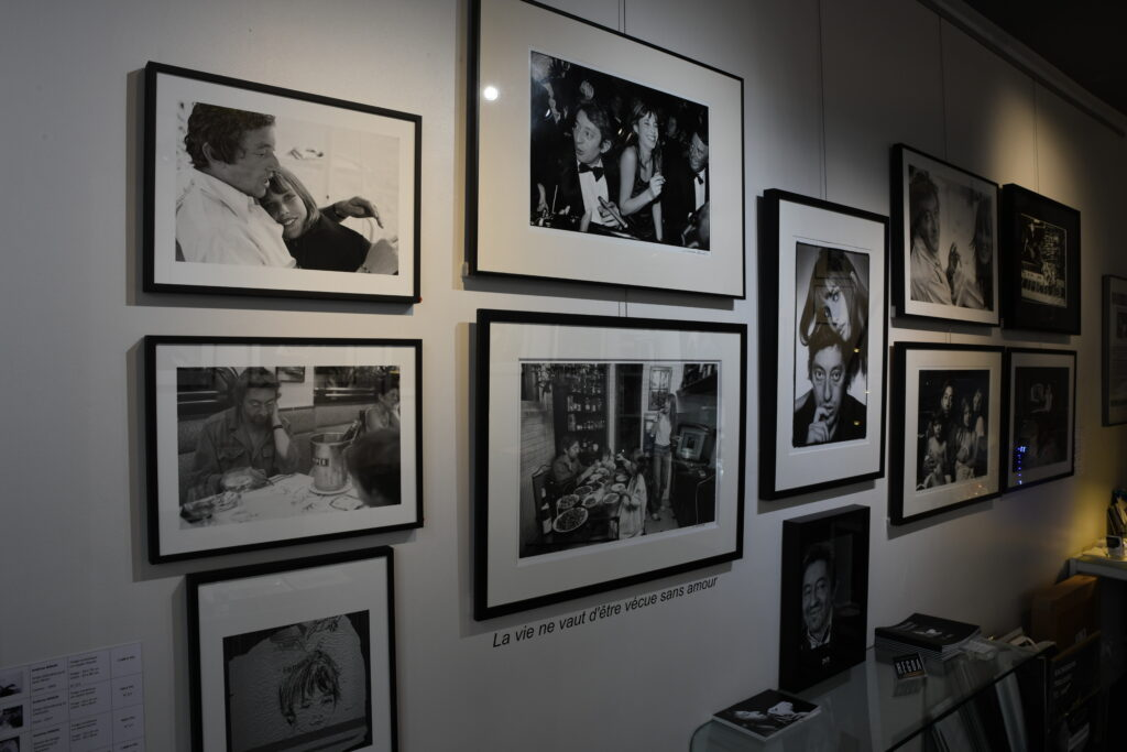 Exposition Serge Gainsbourg - Galerie Hegoa