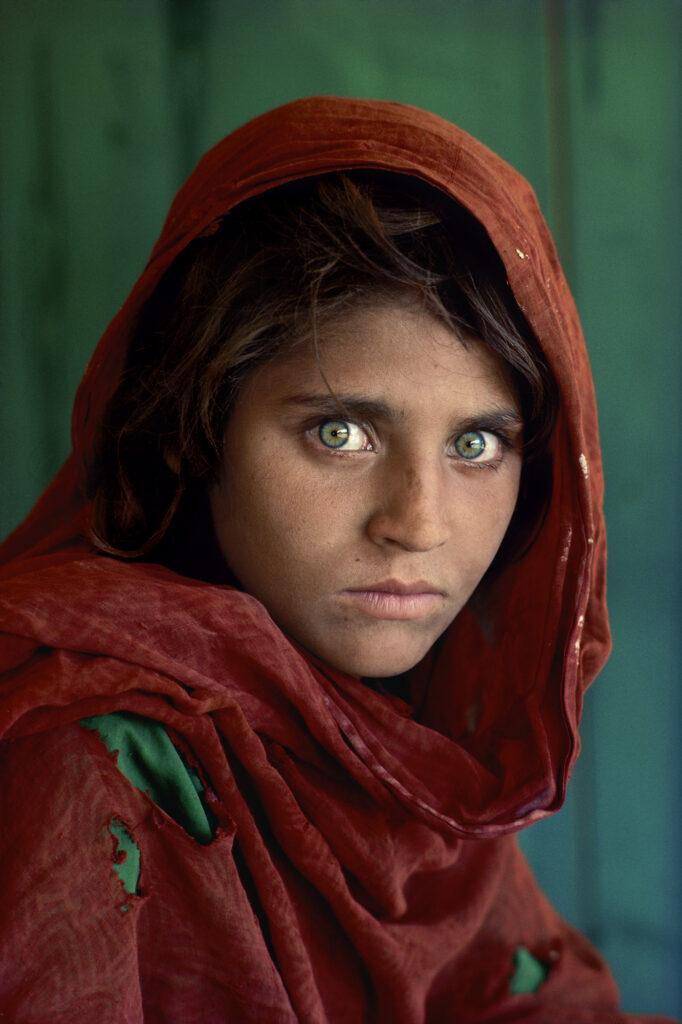 Steve McCurry, Sharbat Gula, Afghan Girl, 1984
