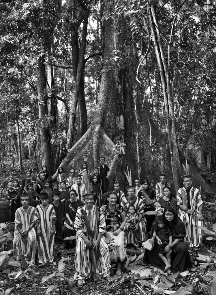 Sebastiao Salgado, Famille Ashaninka (État d'Acre, Brésil) 2016
