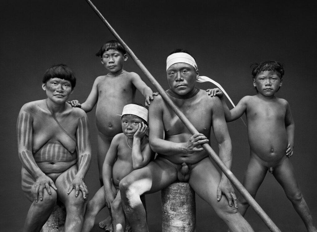 Sebastiao Salgado, Famille Korubo (État d'Amazonas, Brésil) 2017