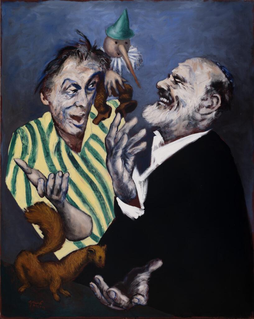 Gérard Garouste, H'avrouta ( la martre et Pinocchio) ,2019