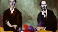 Garouste - Galerie TemplonGAROUSTE_La marthe et l'écureuil ( Portraits de Kafka et Chouchani)_2019_402746_Bertrand Huet Tutti