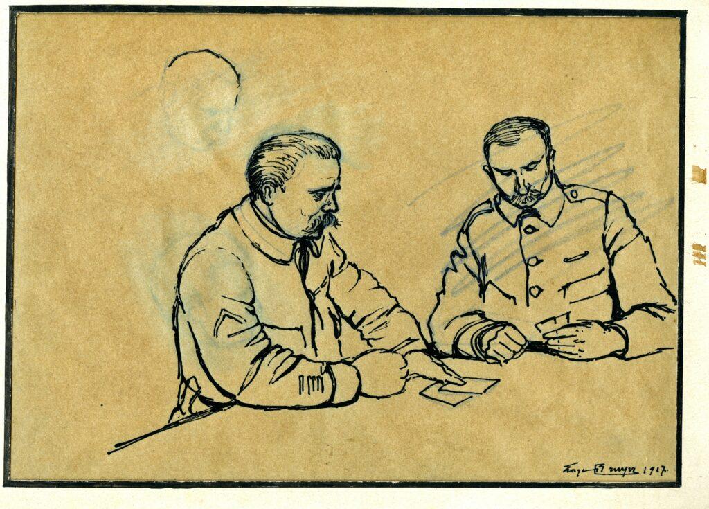 Sans titre, Georges Bruyer, 1917