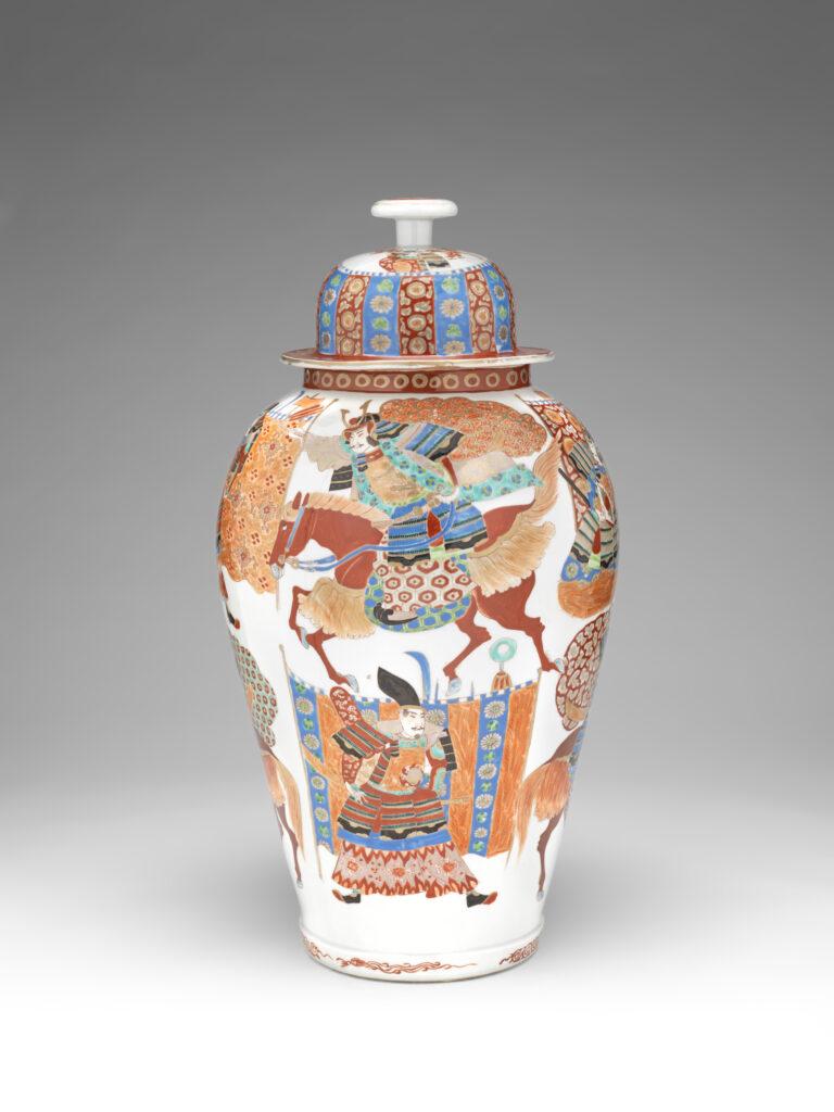 Hichôzan Fukagawa, potiche, 1850-1870
