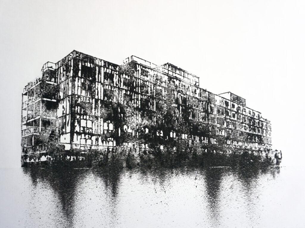 Nicolas Daubanes Prison Ship, The Bibby Renaissance, 2020