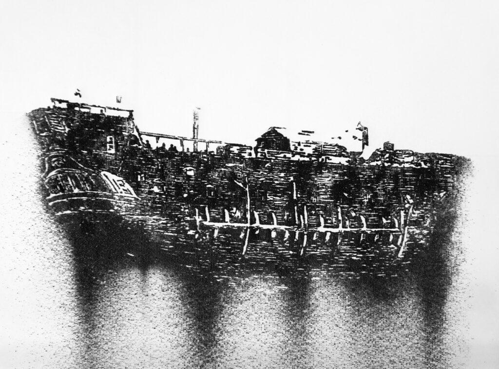 Nicolas Daubanes, Prison ship, 2020