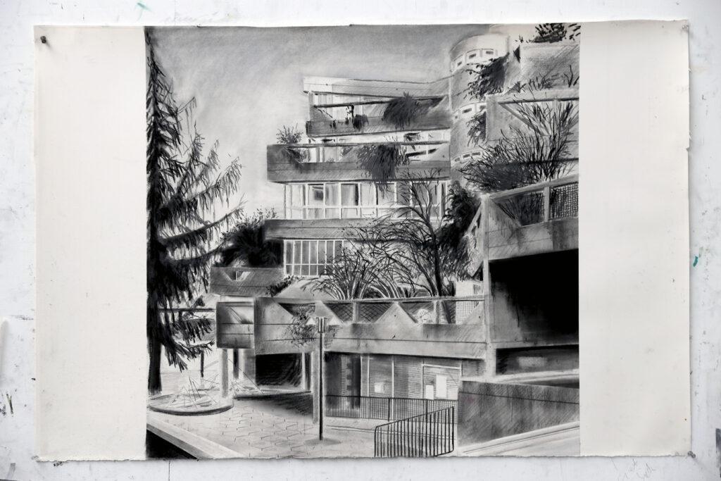 Yves Bélorgey, Immeuble Jean Baptiste Clément, 2020