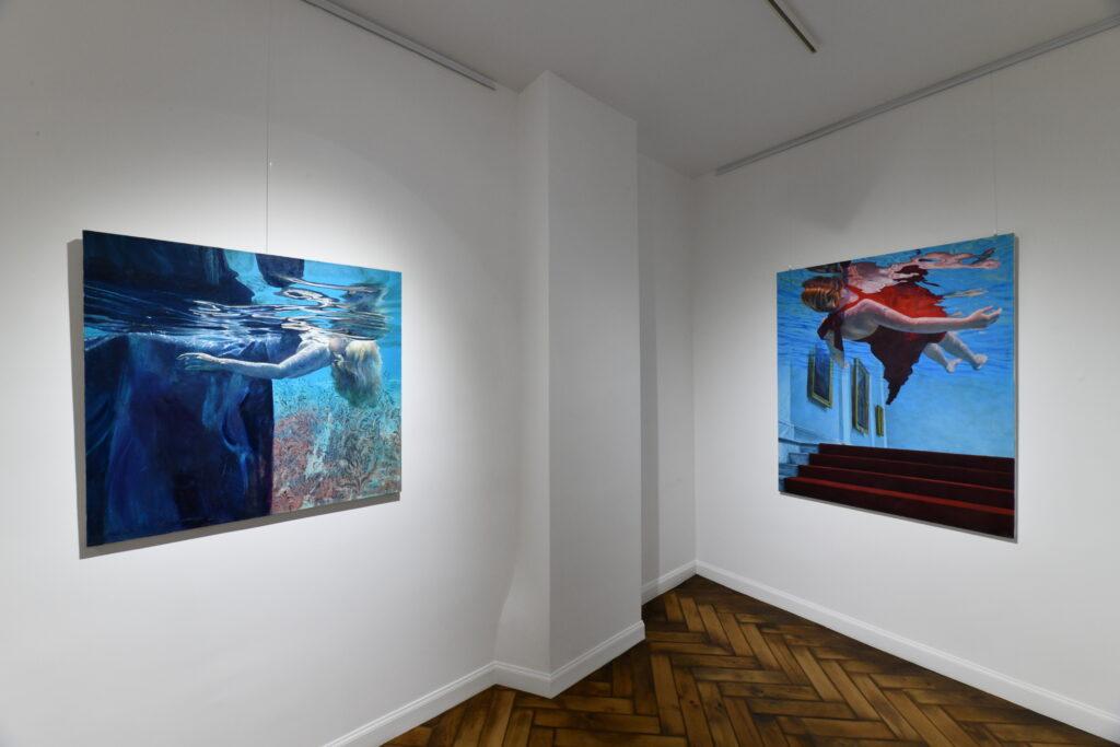 Vue de l'exposition Ivana Zivic, Galerie Boris
