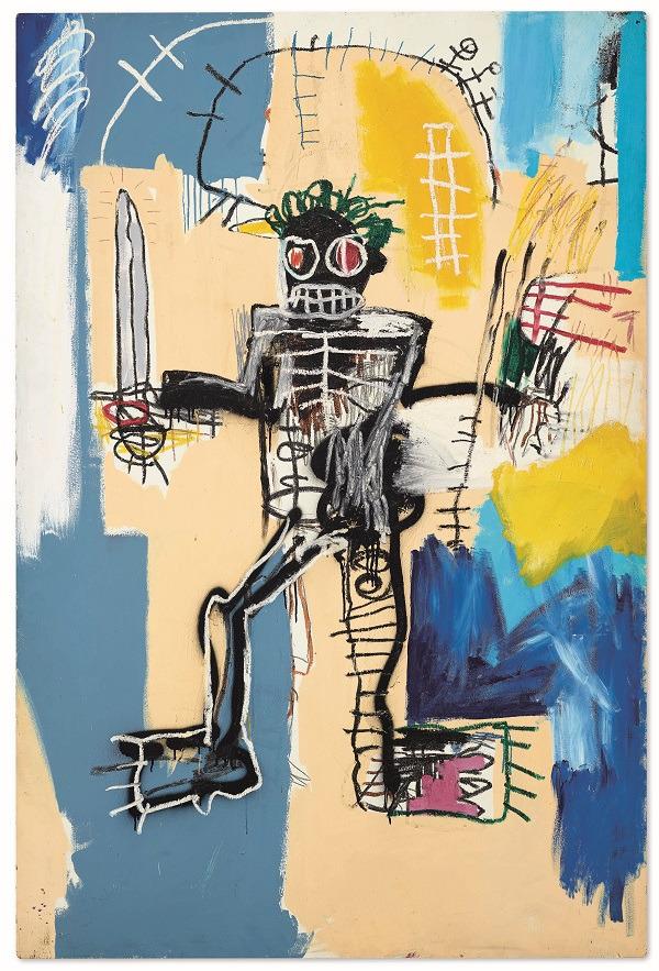 Jean-Michel Basquiat, Warrior, 1982