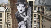 JR, Charlie Chaplin et Jackie Coogan (Le Kid, 1921), 2021