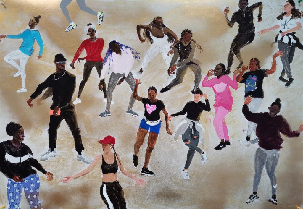 Danse afro, Lin Wenjie, 2020