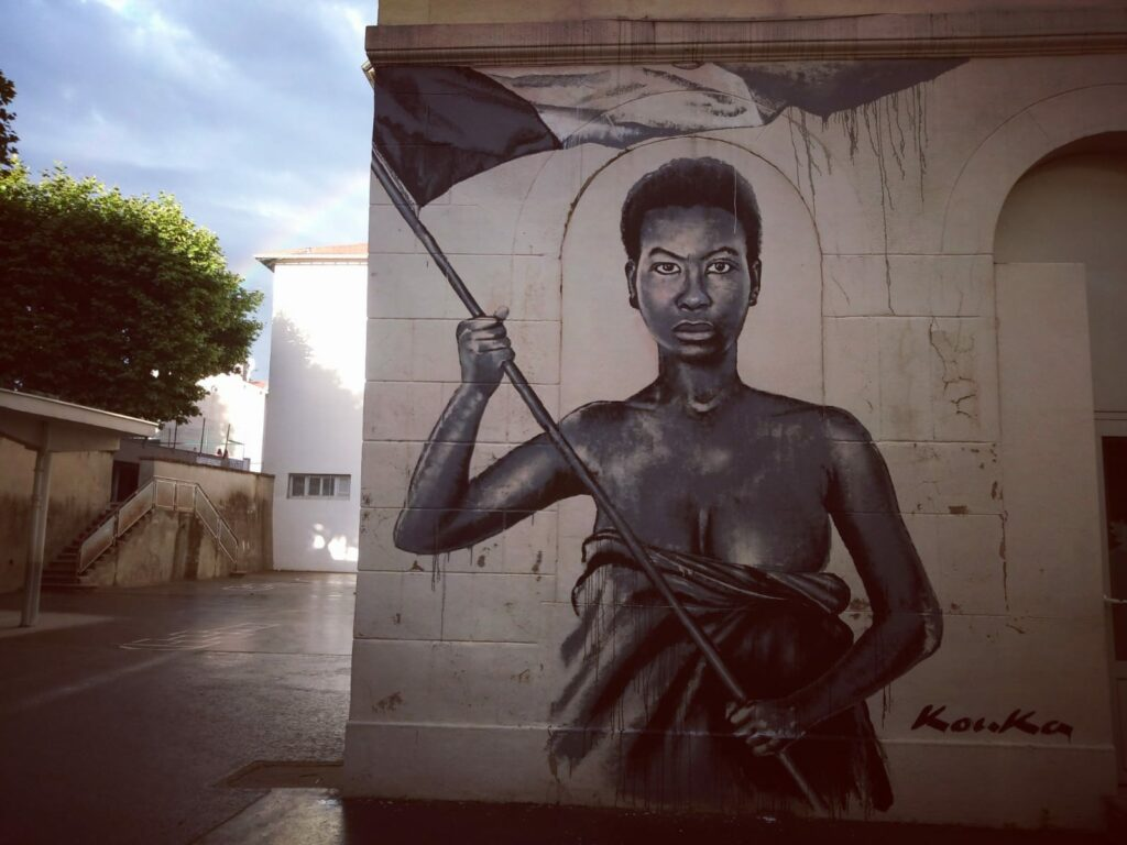 La Marianne noire de Kouka