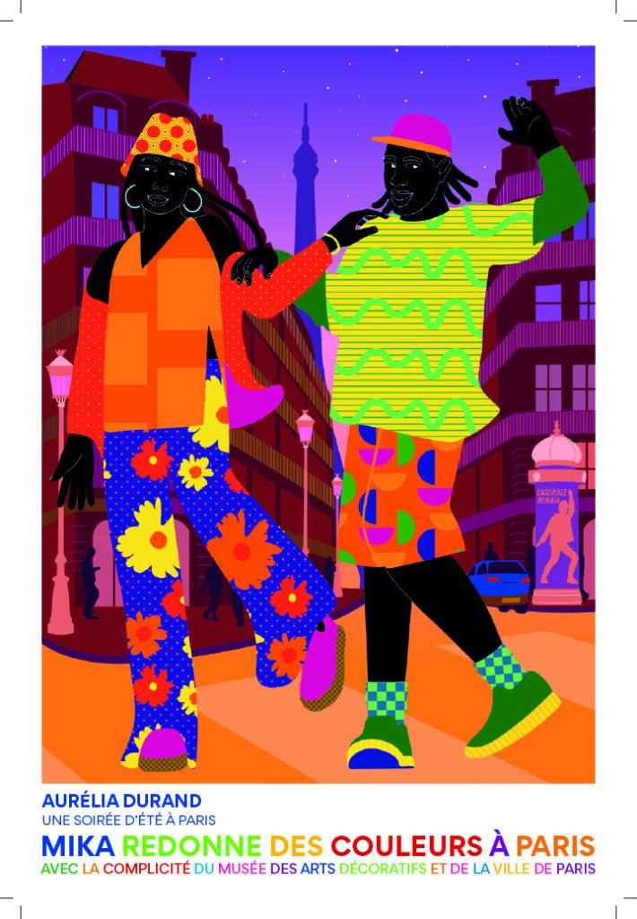 Aurelia Durand, Une soirée d'été à Paris, 2021