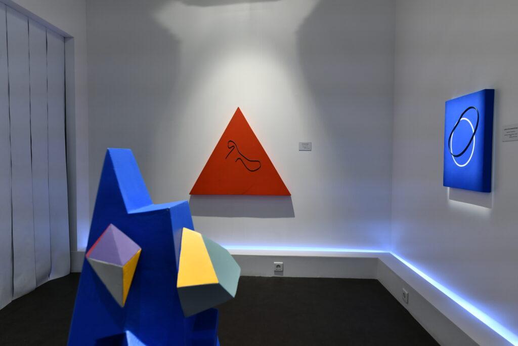 Vue de l'exposition Asdrubal Colmenarez