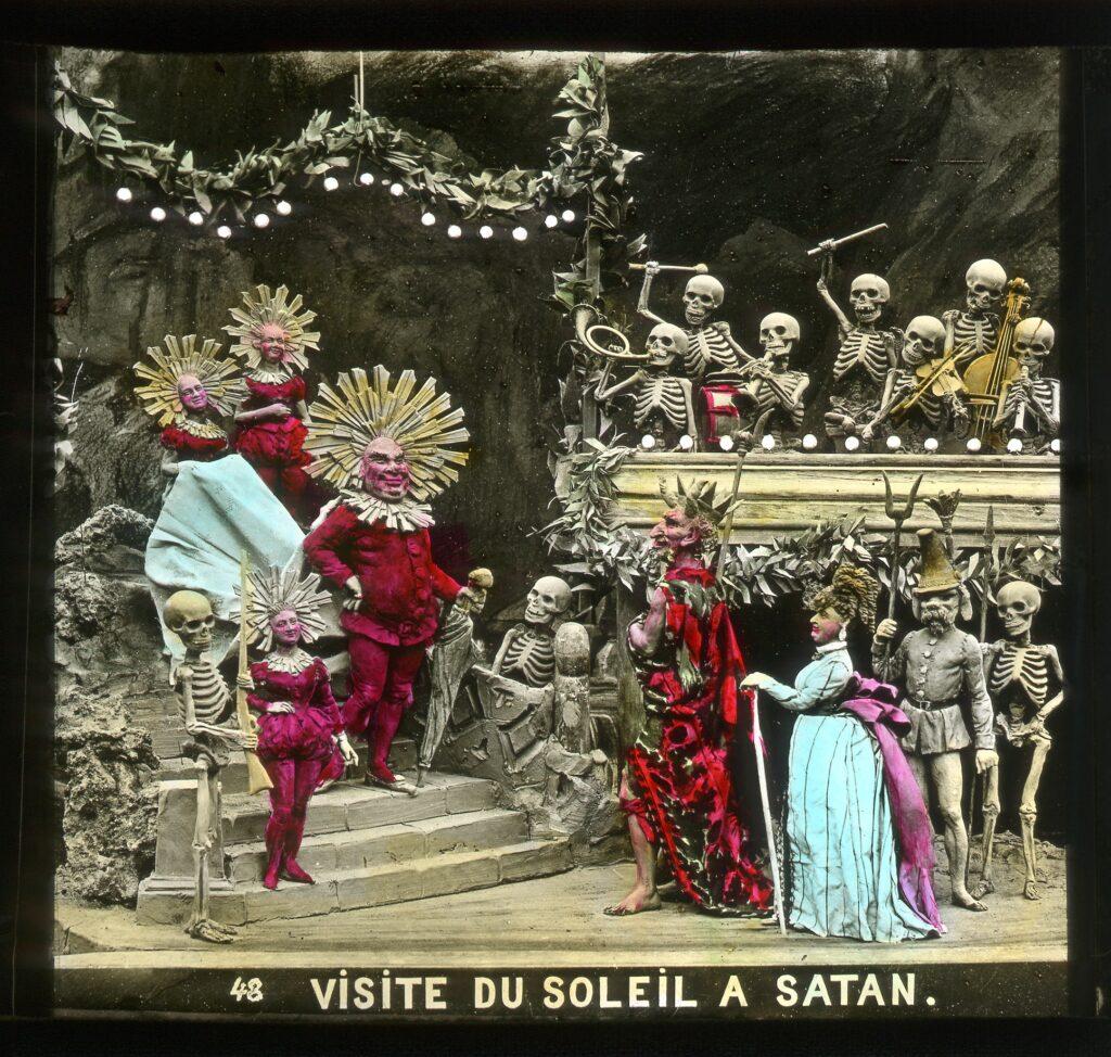 Le Petit Chaperon rouge, Visite du Soleil à Satan, 1873