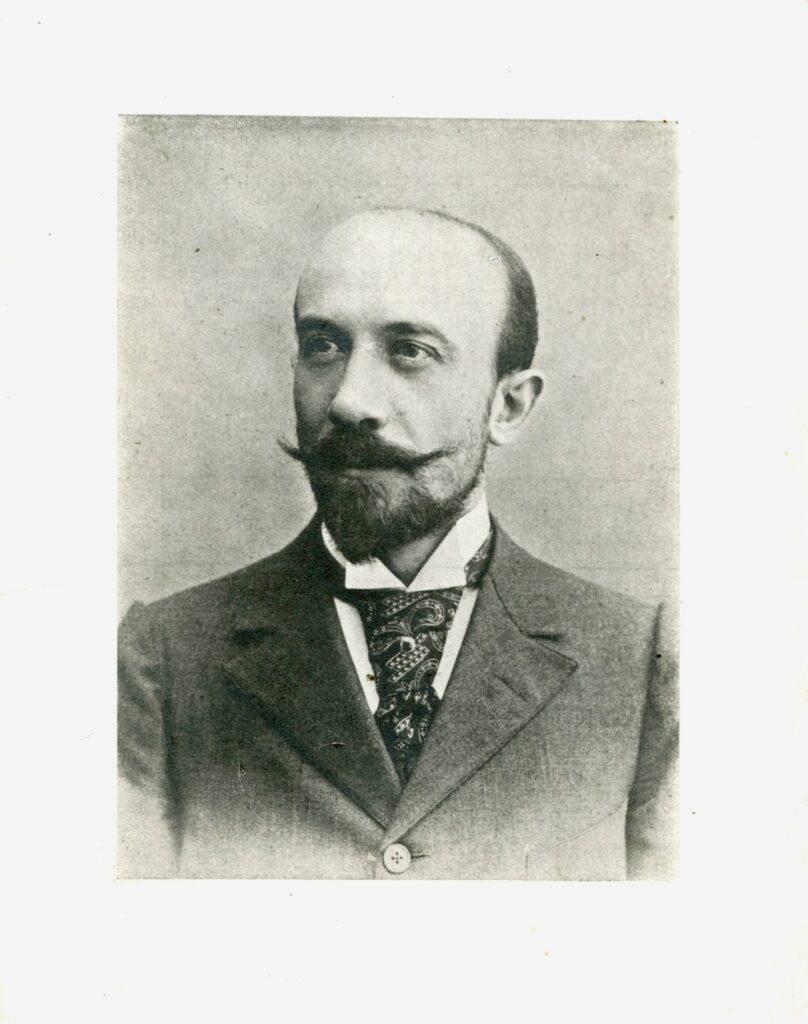 Portrait de Georges Méliès à 34 ans