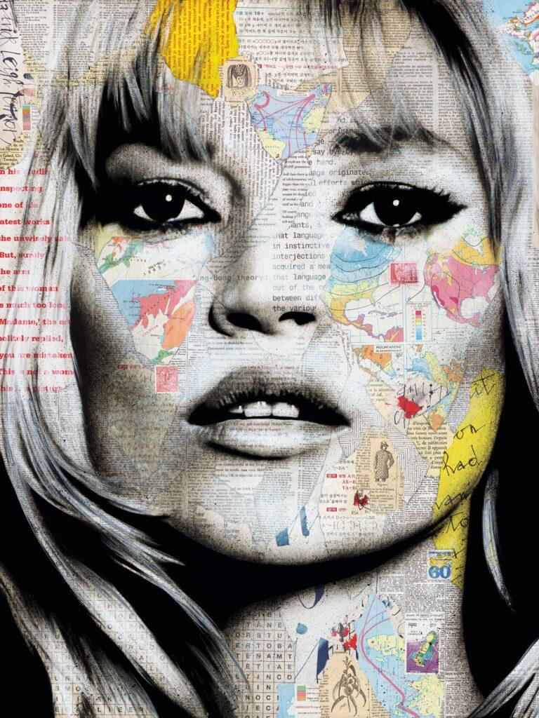 Andre MONET, Kate Moss
