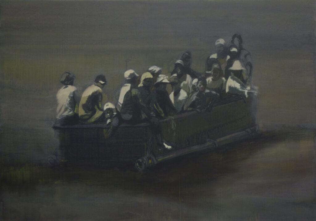 Claire Tabouret, Sans titre, 2013