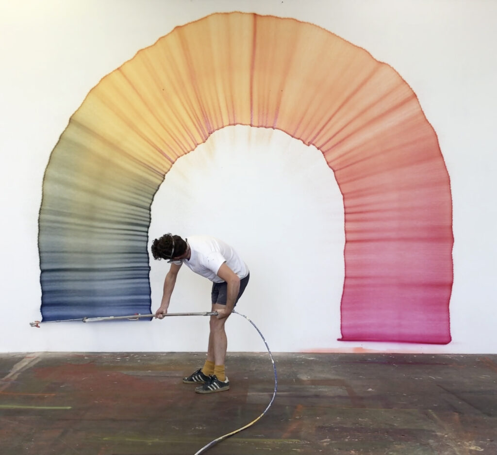 Thomas Trum, Test Colorchangingline, 2019