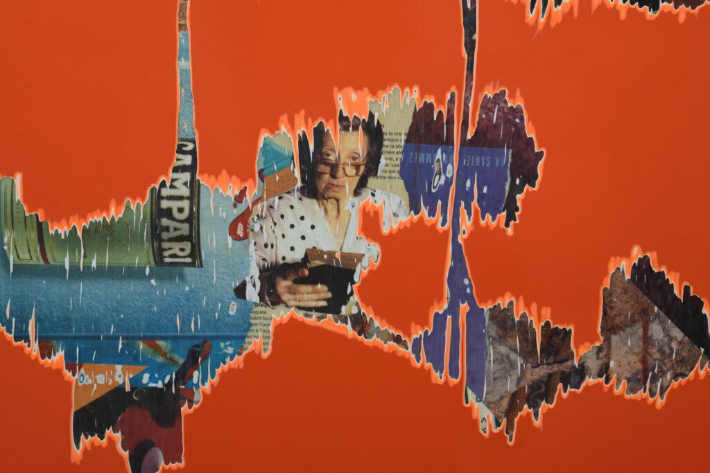 Vue de l'exposition Benjamin Baccarani à la Galerie de l'Europe