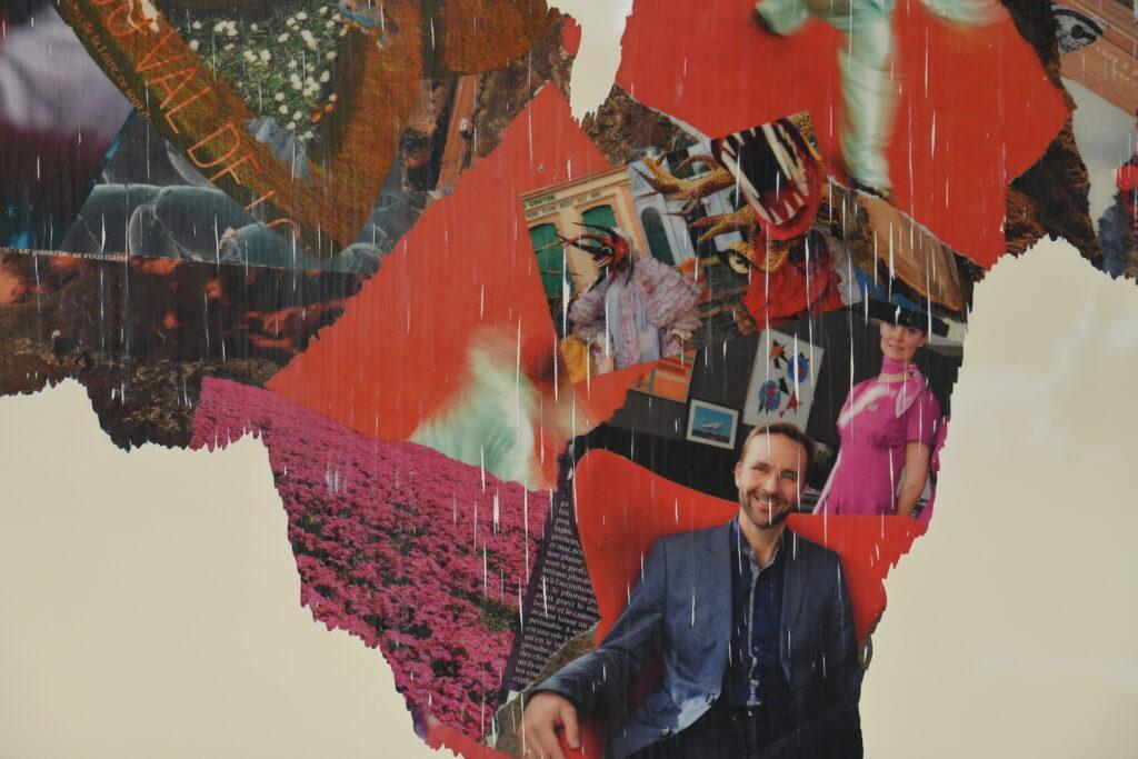 Vue de l'exposition Benjamin Baccarrani à la Galerie de l'Europe