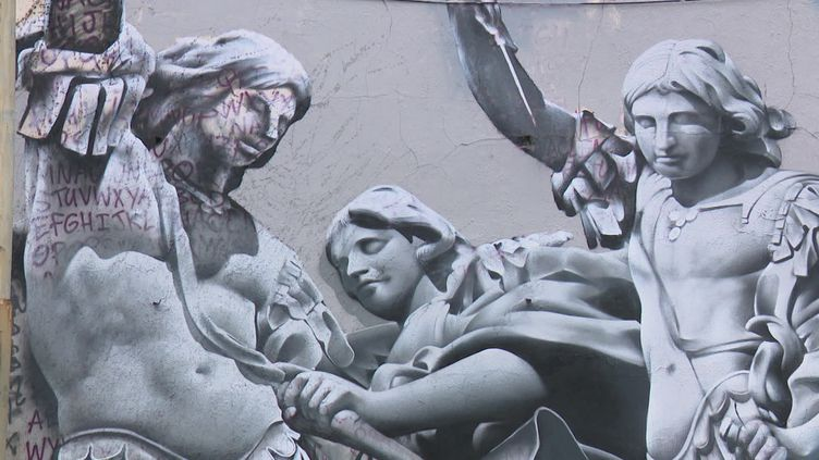L'archange Michel terrassant le Covid, Nacle