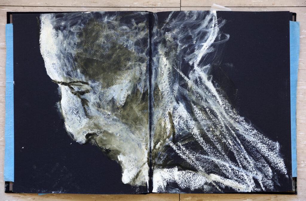 Lydie Arickx, Carnet d'anatomie, 1996