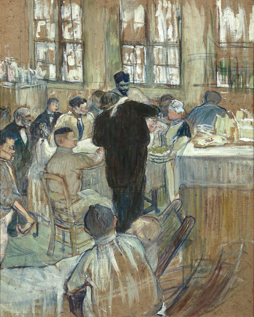 Henri de Toulouse-Lautrec, Une opération par le Docteur Péan à l'Hôpital International, 1891