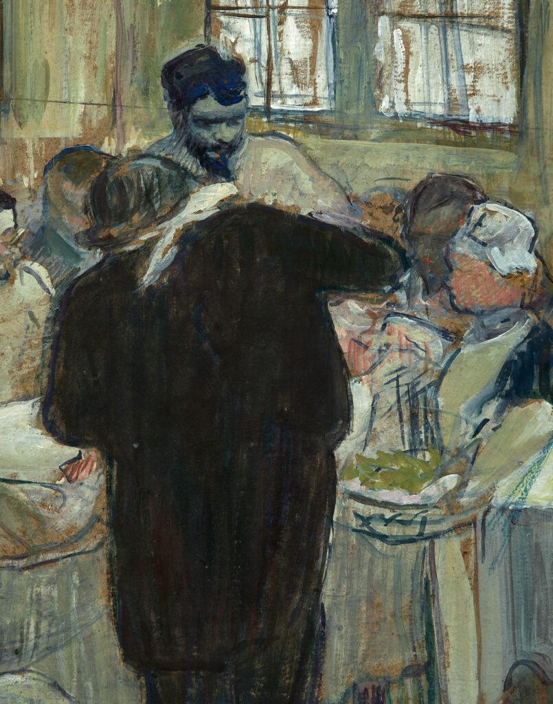 Henri de Toulouse-Lautrec, Une opération par le Docteur Péan à l'Hôpital International (détail 2)