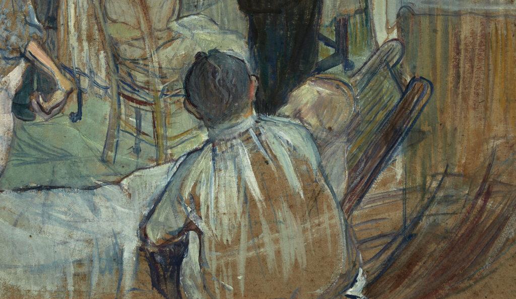 Henri de Toulouse-Lautrec, Une opération par le Docteur Péan à l'Hôpital International (détail 3)