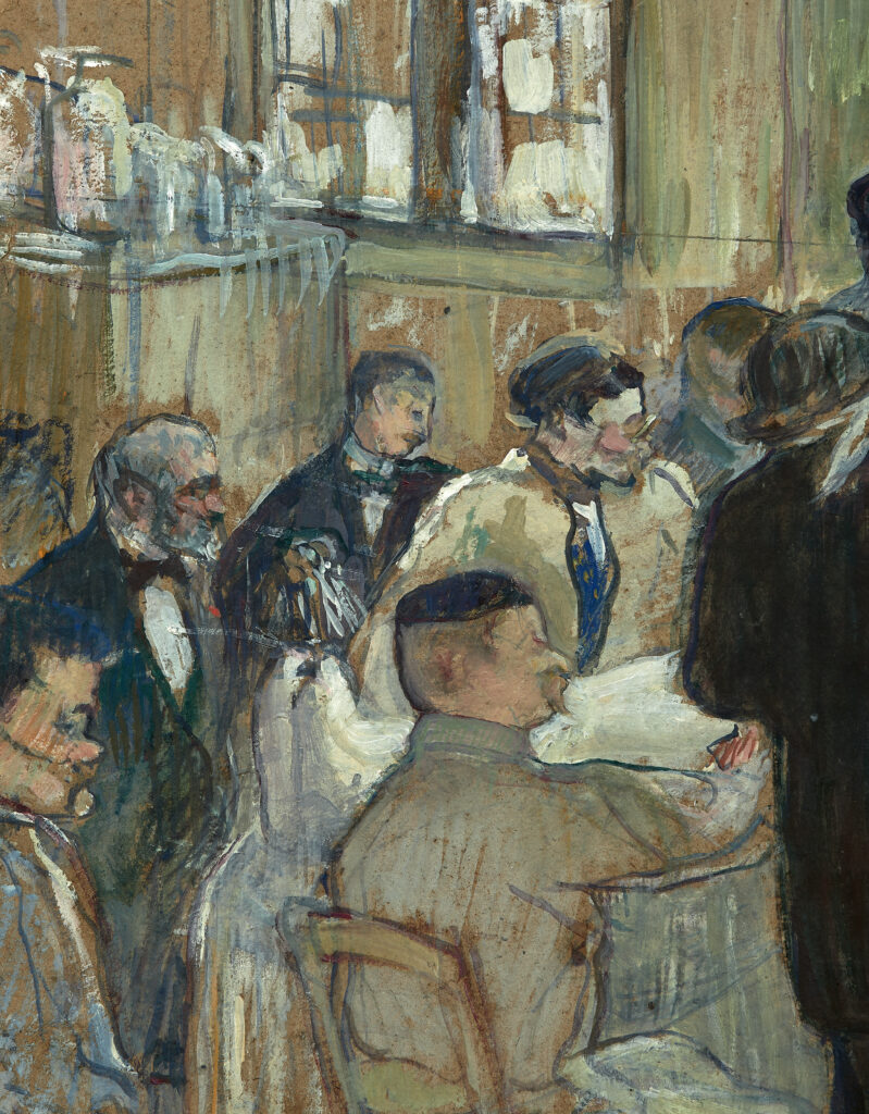 Henri de Toulouse-Lautrec, Une opération par le Docteur Péan à l'Hôpital International (détail)