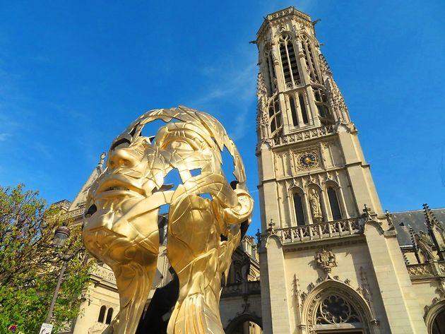 Hopare, Sculpture 2, Place du Louvre