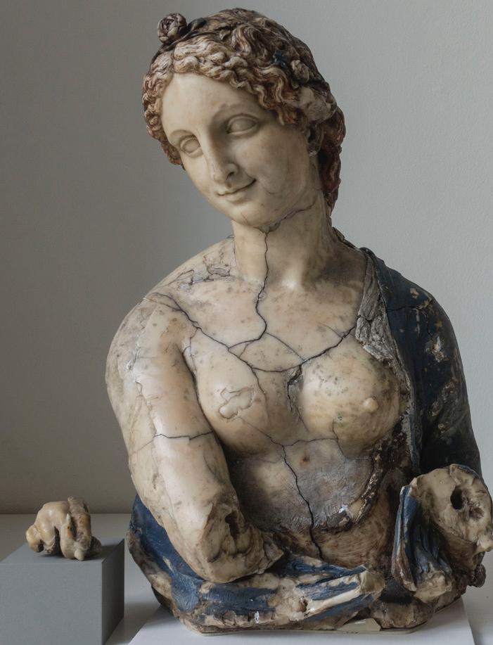 Buste de la Flora (attribué à Léonard de Vinci)