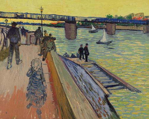 Le pont de Trinquetaille, Vincent Van Gogh