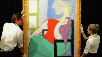 Pablo Picasso, Femme assise près d'une fenêtre, 1932