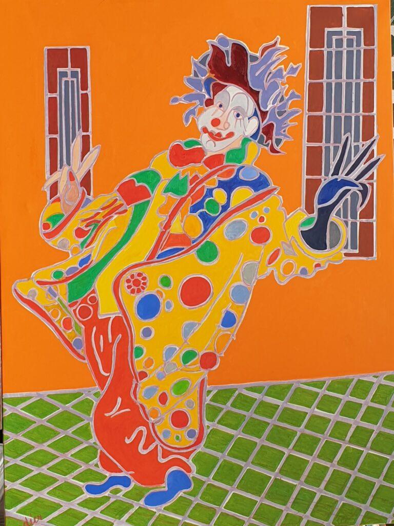 Henri Landier, La clown de Maastricht, 2020